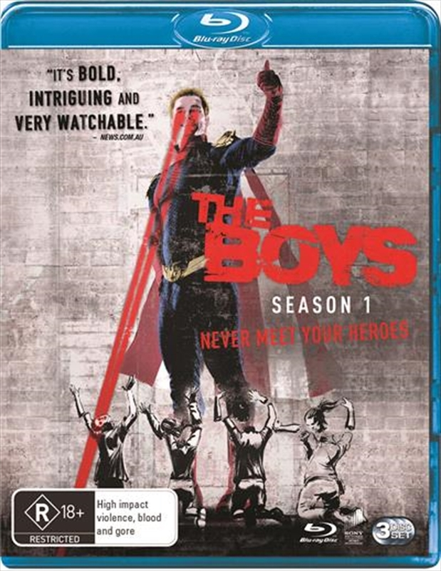 The Boys - The Complete First Season on Blu-ray