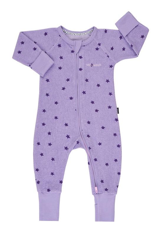 Bonds: Poodlette Zip Wondersuit - Star Shine/Prince Purple (Size 0)
