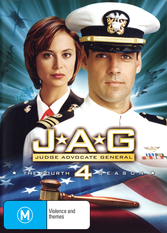 JAG: Judge Advocate General - The 4th Season on DVD