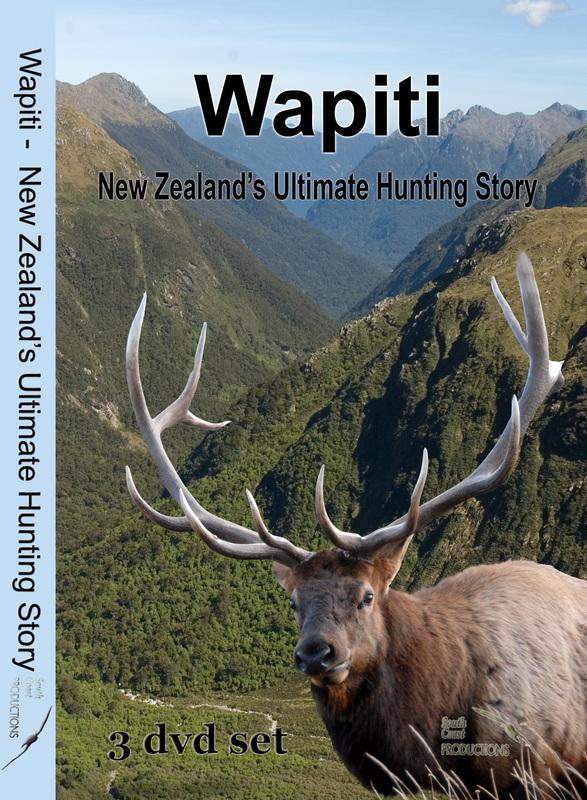 Wapiti: New Zealand's Ultimate Hunting Story on DVD