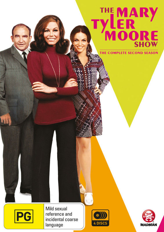 The Mary Tyler Moore Show The Complete Season 2 on DVD