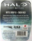 Halo: Fleet Battles - Battle Group ID & Token Pack