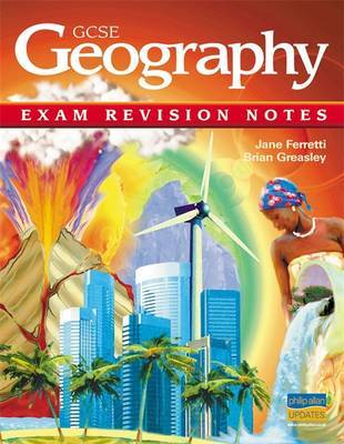 GCSE Geography Exam Revision Notes by Jane Ferretti image