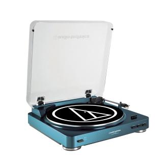 Audio Technica LP60BL Belt Drive Turn Table - Blue