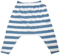 Bonds Slouchy Stripe Pants - Chambray (12-18 Months)