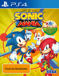 Sonic Mania Plus for PS4