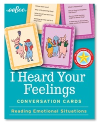 eeBoo: I Heard Your Feelings - Flash Cards