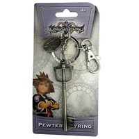 Kingdom Hearts Pewter Keyring - Sora's Sword image