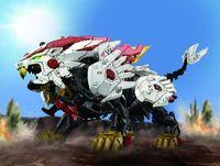 Zoids Wild: ZW25 Beast Liger - Model Kit image