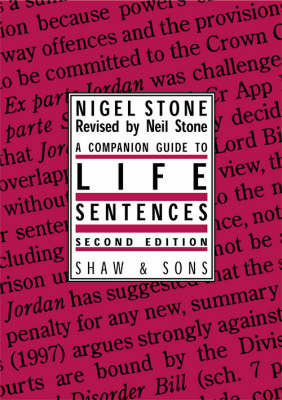 Companion Guide to Life Sentences by Nigel Stone