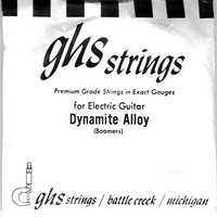 GHS 050 Dynamite Alloy Guitar Boomers - Electric Guitar Single String