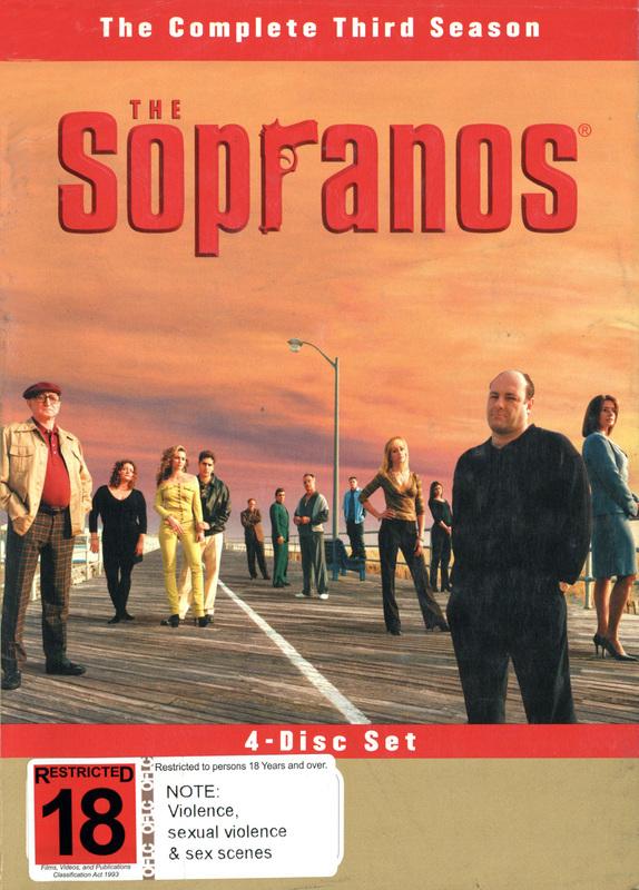 The Sopranos - The Complete Third Season on DVD