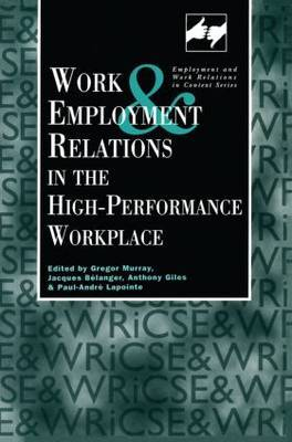 Work and Employment in the High Performance Workplace image