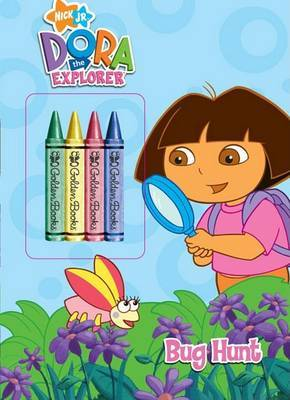 C/Actdx:Dora Exp - Bug Hunt with Cr by Golden Books image