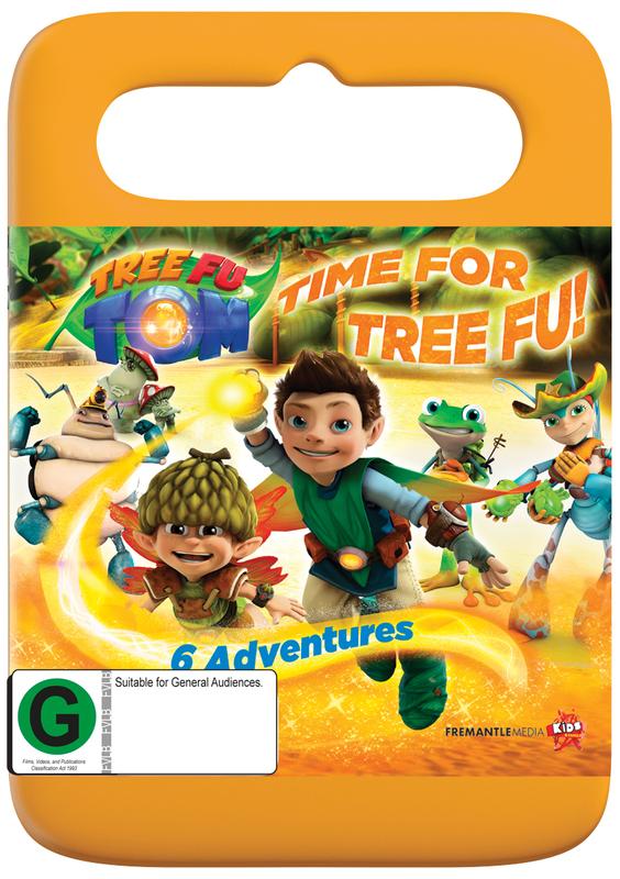 Tree Fu Tom: Time For Tree Fu - Season 1 Volume 4 on DVD