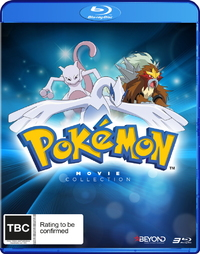 Pokemon: Movies 1-3 Collection on Blu-ray
