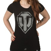 World of Tanks Spray Logo Women's T-Shirt (Large)