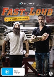 Fast N Loud: Hot Wheels Big Deals on DVD