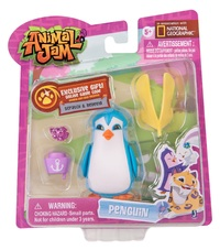 Animal Jam: Fashionable Figure Set (Sir Penguin)