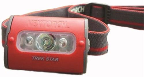 Nextorch Trek Star 220L LED Headlamp (Red) - 220 Lumens