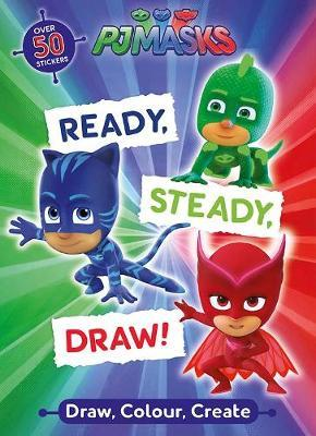 PJ Masks Ready, Steady, Draw! by Parragon Books Ltd image