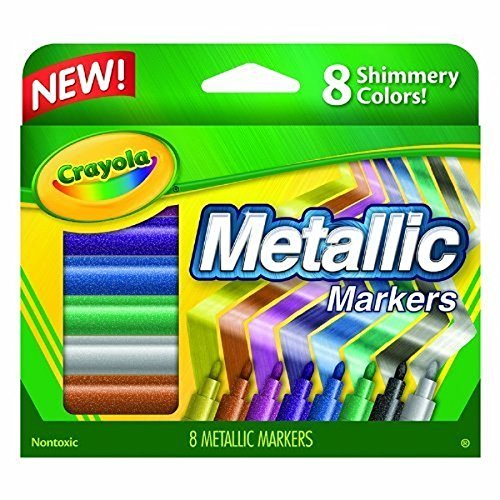 Crayola Metallic Markers 8pc