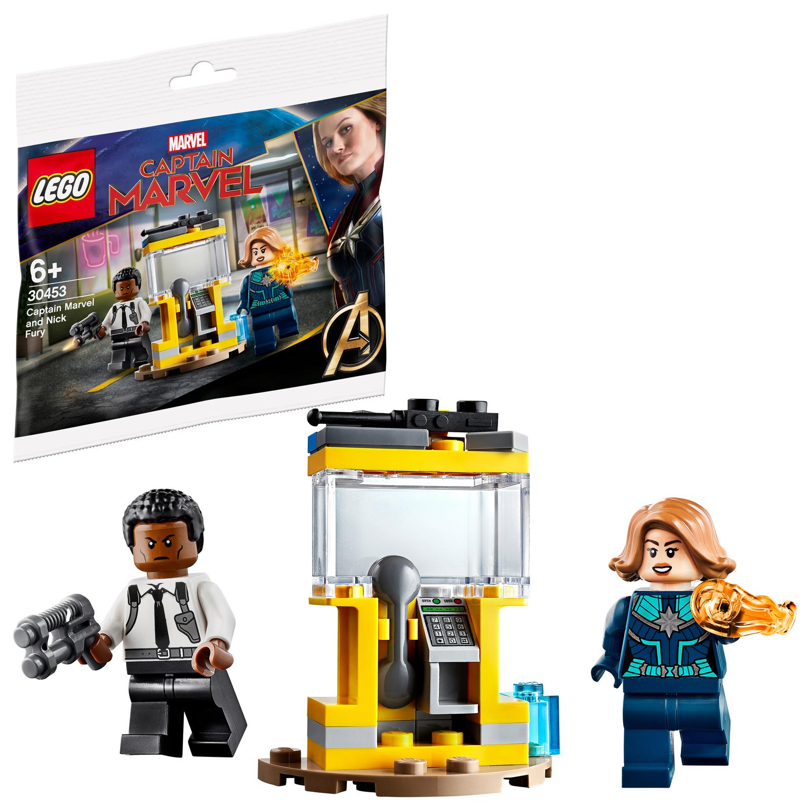 Lego: Captain Marvel and Nick Fury image