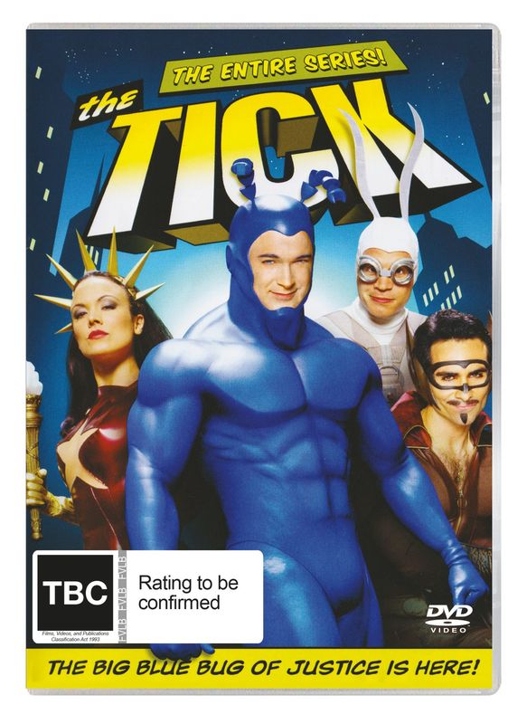 The Tick - The Entire Series on DVD