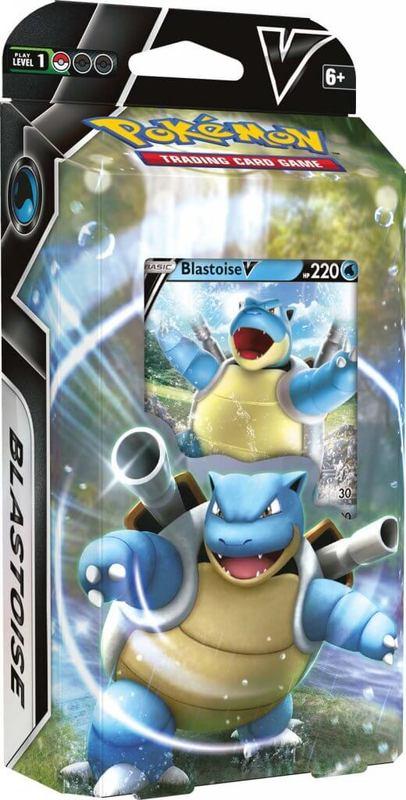 Pokemon TCG: Blastoise V Battle Deck