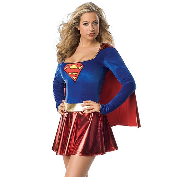 Secret Wishes Supergirl Costume (Medium)