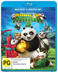 Kung Fu Panda 3 on Blu-ray