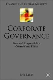 The Insider's View on Corporate Governance by E. Banks