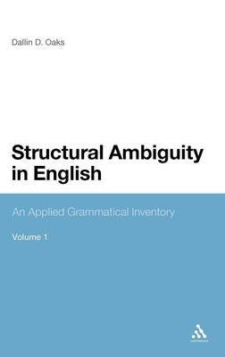 Structural Ambiguity in English by Dallin Oaks image