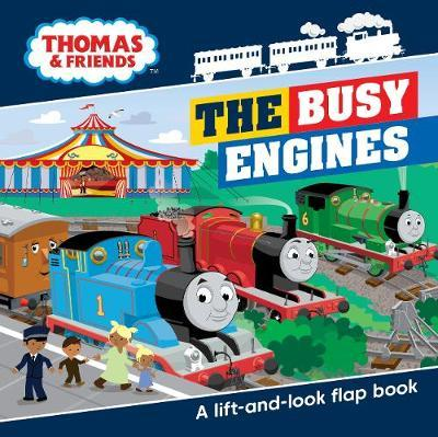 Thomas & Friends Busy Engines Lift-the-Flap Book image