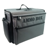 Battle Foam: Ammo Box Bag - Standard Load Out for 15-20mm Models (Grey)