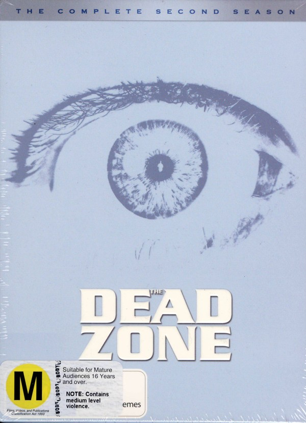 Dead Zone - Complete Season 2 (4 Disc Set) on DVD image