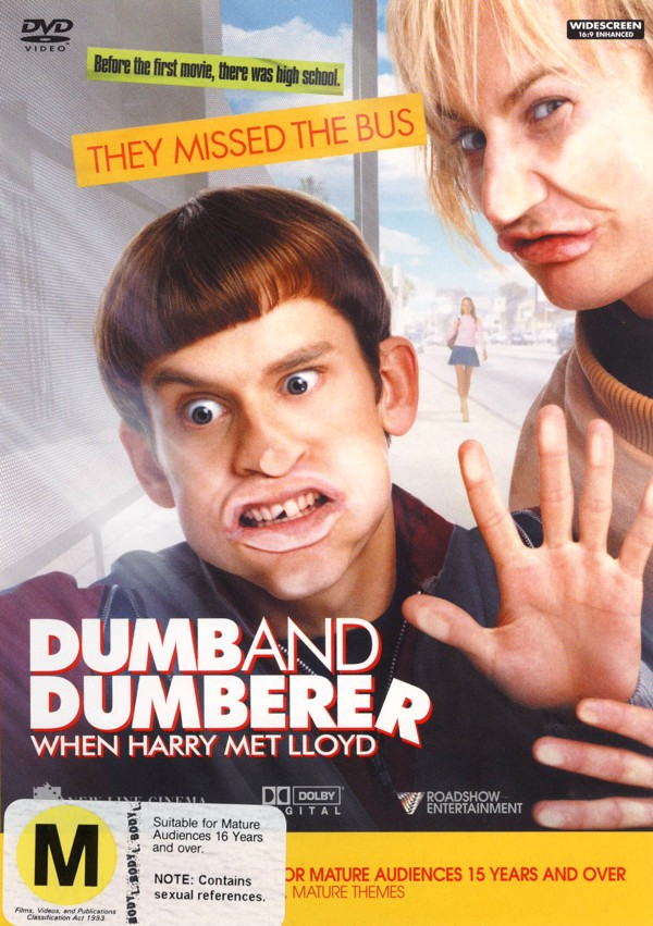 Dumb And Dumberer - When Harry Met Lloyd on DVD image
