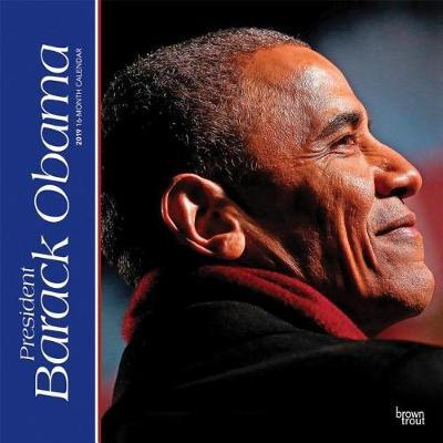President Barack Obama 2019 Square by Inc Browntrout Publishers image