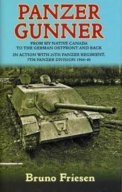 Panzer Gunner by Bruno Friesen