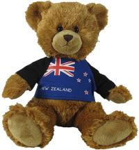 Antics: NZ Flag T-Shirt - Teddy Bear