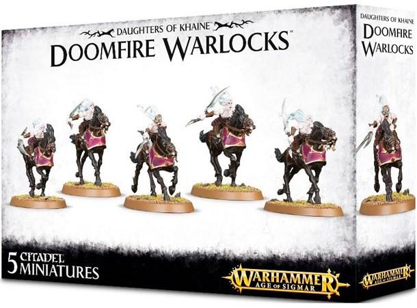 Warhammer Age of Sigmar: Daughters of Khaine - Doomfire Warlocks