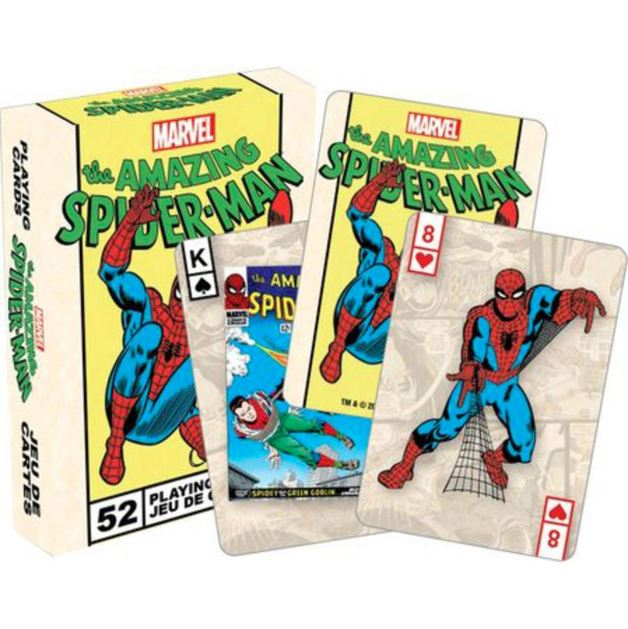Marvel - Spiderman Retro Playing Cards