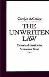 The Unwritten Law by Carolyn A Conley image