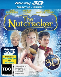 The Nutcracker 3D Blu-ray / 2D Bluray on Blu-ray, 3D Blu-ray
