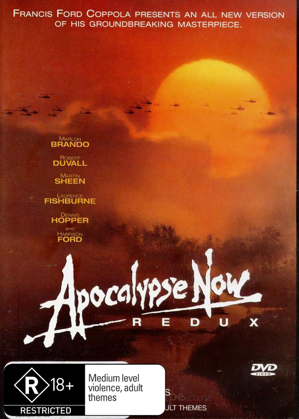 Apocalypse Now Redux on DVD image