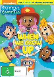 Bubble Guppies: When We Grow Up on DVD