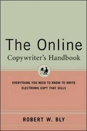 The Online Copywriter's Handbook by Robert W Bly