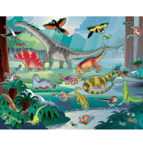 Melissa & Doug: Reusable Sticker Pad - Prehistoric image