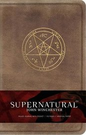 Supernatural: John Winchester Hardcover Journal by Insight Editions