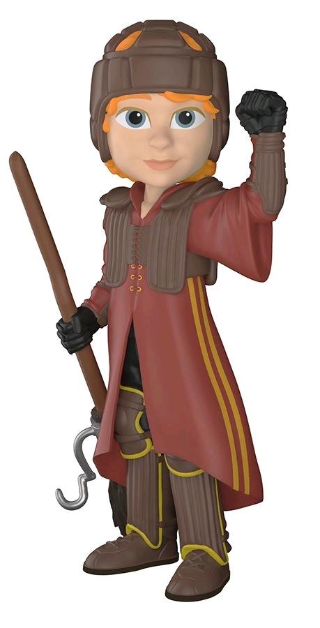 Harry Potter: Ron Weasley (Quidditch Uniform) - Rock Candy Vinyl Figure image